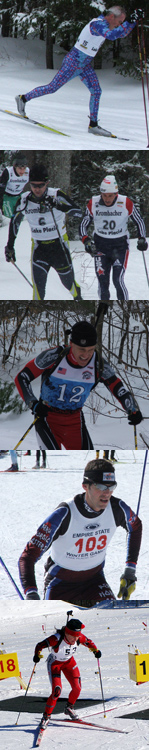 NYSSRA skiers in action